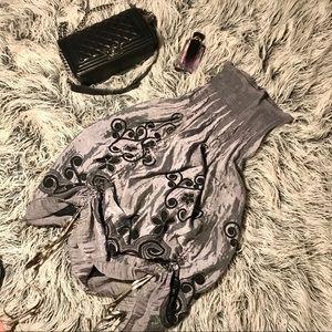 Anthropologie Lapis Convertible Skirt/Dress